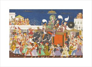Maharao Umed Singh of Kota, c.1850 by Unknown artist