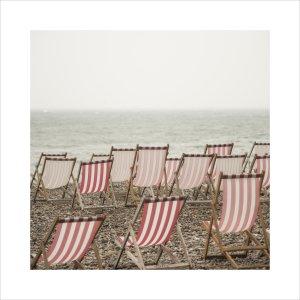 Deckchairs on Beer Beach by Scott Dunwoodie