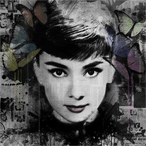 Ghosts: Audrey Hepburn by VeeBee