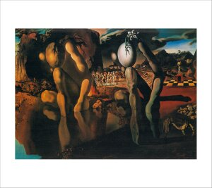 Metamorphosis of Narcissus by Salvador Dali