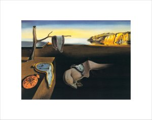 The Persistance of Memory, 1931 by Salvador Dali