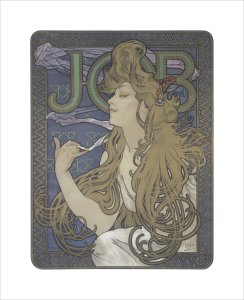 Job, 1897 by Alphonse Mucha