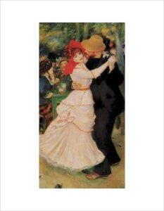Dance at Bougival by Pierre Auguste Renoir