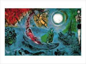 The Concert by Marc Chagall